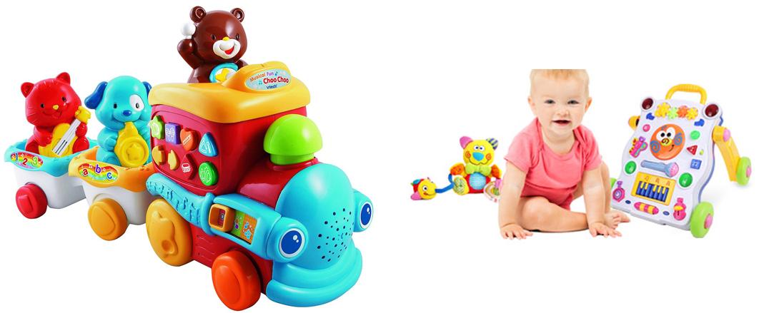 На картинке представлены товары для детей, которые можно приобрести в магазине Антошка