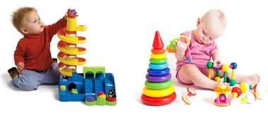 На картинке представлены Игрушки для ребенка, которые можно приобрести в магазине Антошка