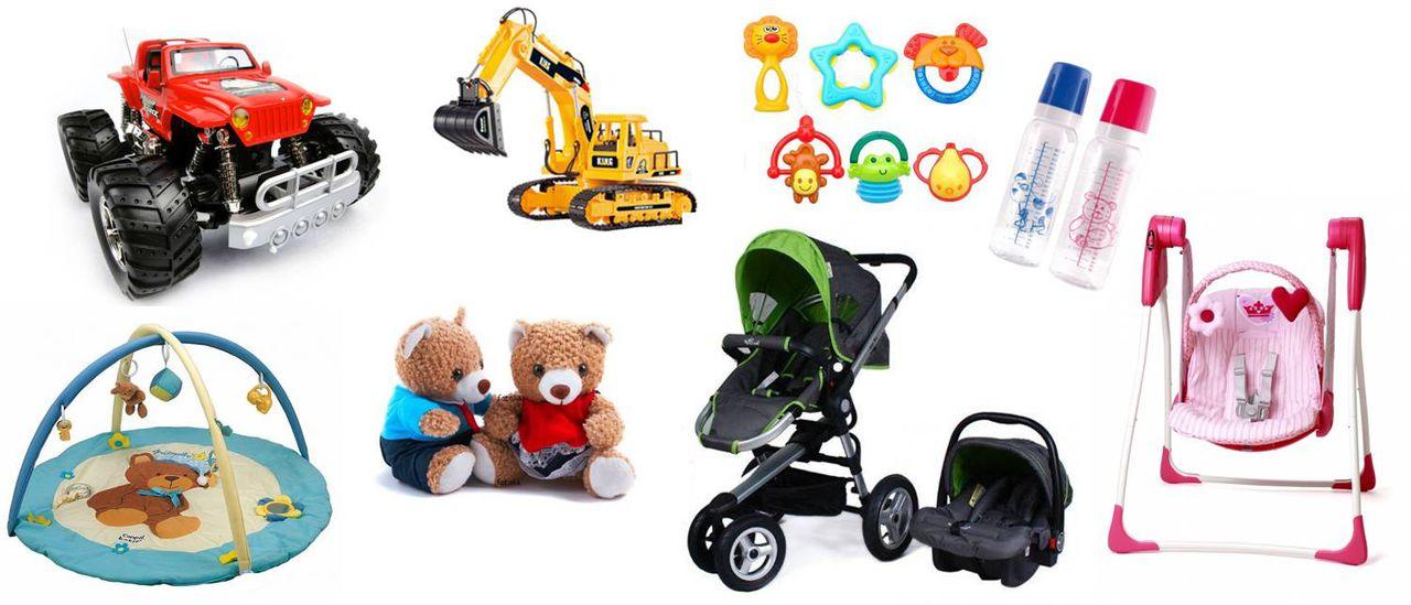 На картинке представлен Интернет-магазин товаров для детей, которые можно приобрести в магазине Антошка