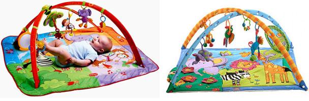 На картинке представлен Развивающий коврик tiny love (тини лав), который можно приобрести в магазине Антошка