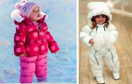 На картинке представлены Распродажа зимних комбинезонов для детей, которые можно приобрести в магазине Антошка