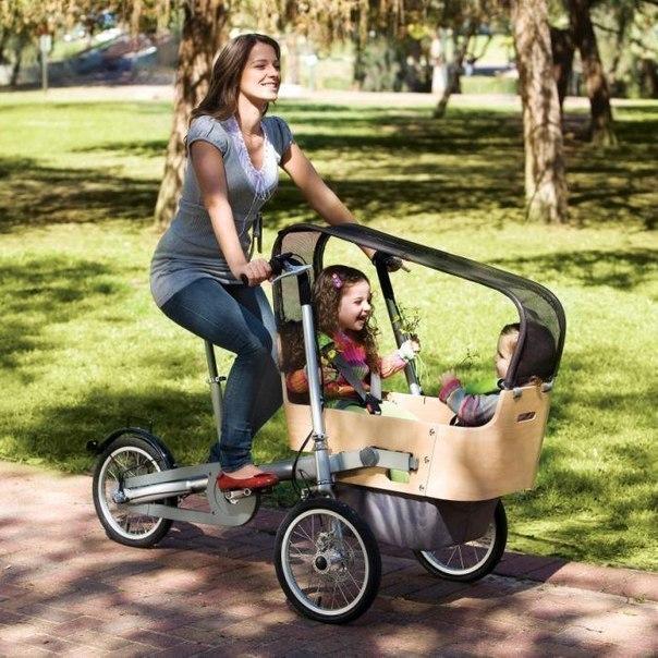 Велосипед для мам своими руками