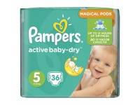 Подгузники Pampers Active Baby Dry Junior 11-18 кг 36 шт.