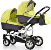 Детская коляска для двойни 2 в 1 Aroteam Twinat Duo