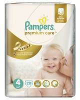 Подгузники Pampers Premium Care Maxi 8-14 кг 20 шт