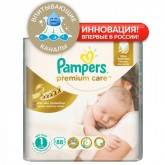 Подгузники Pampers Premium Care Newborn 2-5 кг 88 шт 41602