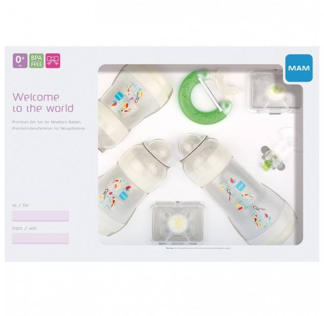 Подарочный набор Mam Welcome to the world Giftset big MAM