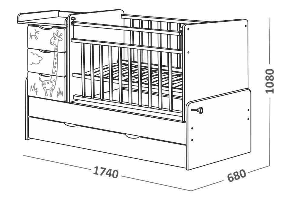 кровать трансформер скв-5 инструкция по сборке - фото 7