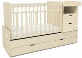 Кровать-трансформер детская СКВ-5 Жираф бежевый 550039