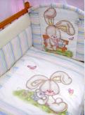 Комплект в кроватку Радужный Золотой гусь 7 предметов