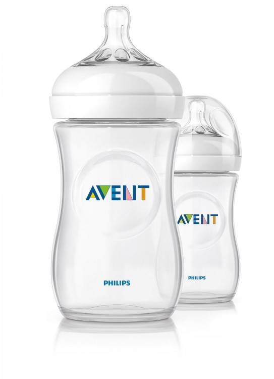 AVENT Philips Детская бутылочка Natural 260 мл (2 шт) 86595