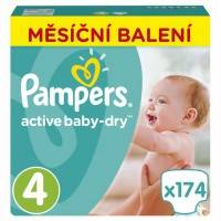 Подгузники Pampers Active Baby Dry Maxi 8-14 кг 174 шт