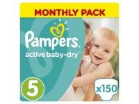 Подгузники Pampers Active Baby Dry Junior 11-18 кг 150 шт.