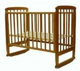 Кроватка детская Соня с-02 темный мед