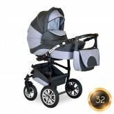 Детская коляска 2 в 1 Alis Monica 16