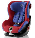 Детское автокресло 9-18 кг. Britax Roemer King II LS Black Series Football Edition Highline