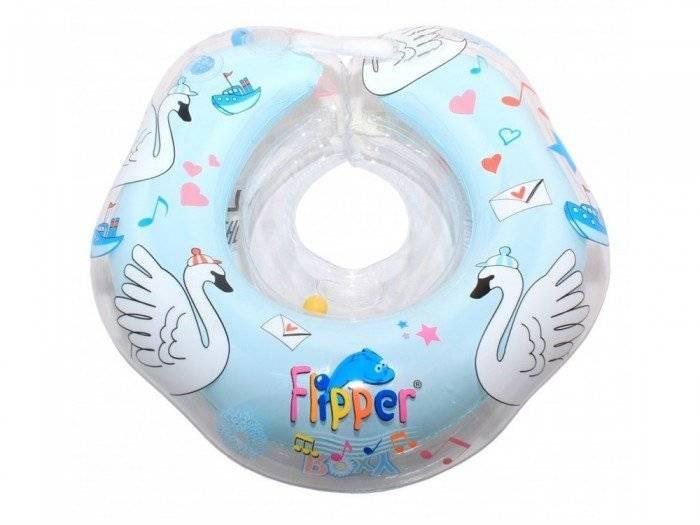 Круг на шею для малышей Roxy Kids Flipper с музыкой Лебединое озеро