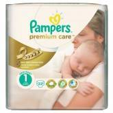 Подгузники Pampers Premium Care Newborn 2-5 кг 22 шт
