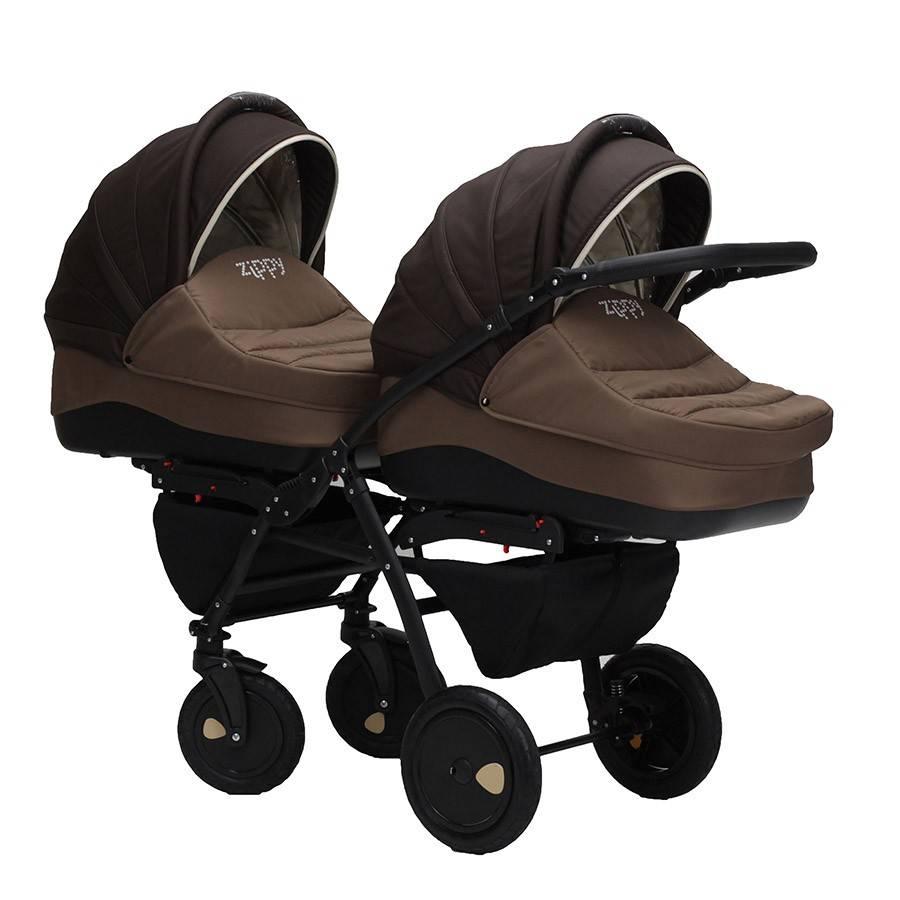 коляски для двойняшек цены и фото