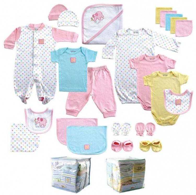 Самые первые необходимые вещи для новорожденного